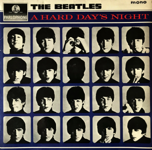 Beatles (The) - A Hard Day's Night (LP) (EX-/VG-)